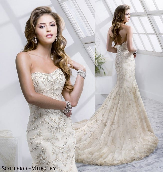 Maurie by Sottero and Midgley. A gorgeous mermaid wedding dress.