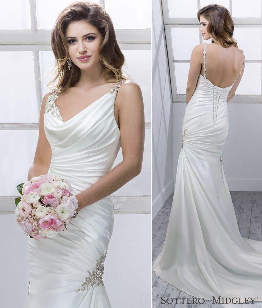 Flattering Wedding Dresses For Your Frame