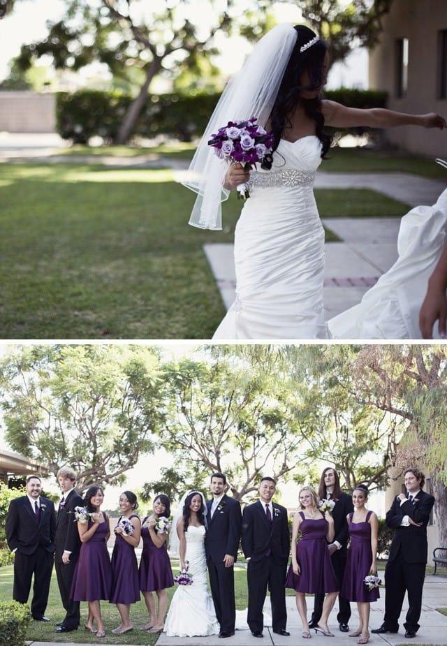 Midgley Bride, Joyce, wearing Adorae.