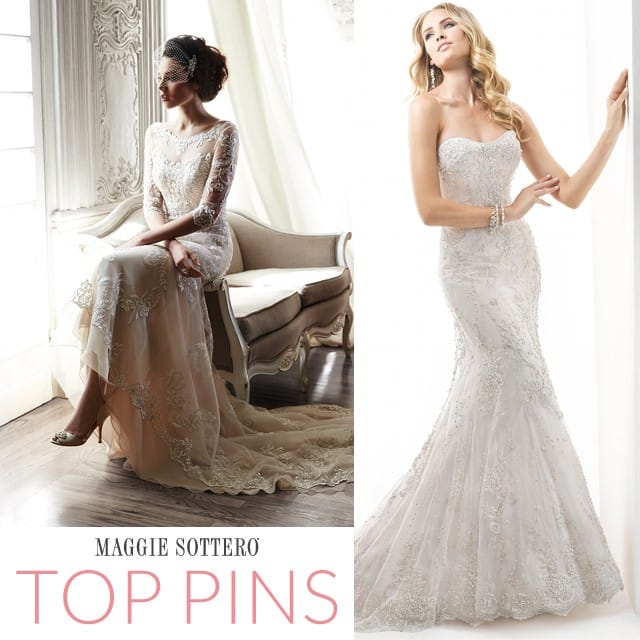 See your favorite wedding dresses, and more, on our Pinterest page!