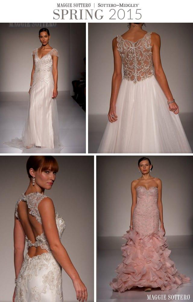Maggie Sottero Spring 2015 Wedding Dresses