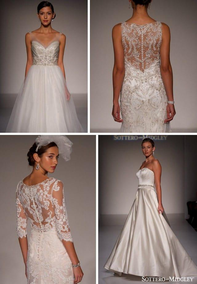 Sottero and Midgley's Spring 2015 Wedding Dresses
