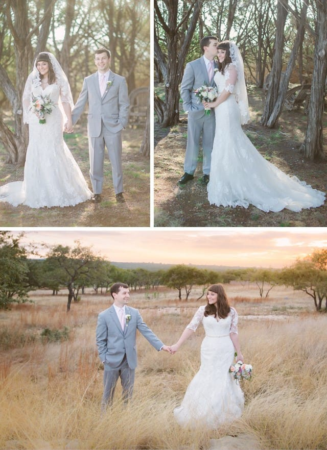 DIY Wedspo from our Real Brides - Maggie Bride Ashley