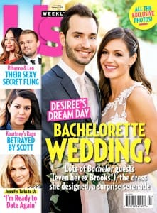 Desiree Hartsock wears Maggie Sottero for her wedding day