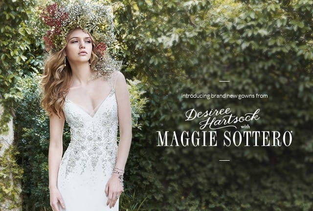 Desiree Hartsock with Maggie Sottero... Get Desiree's Wedding Day Look