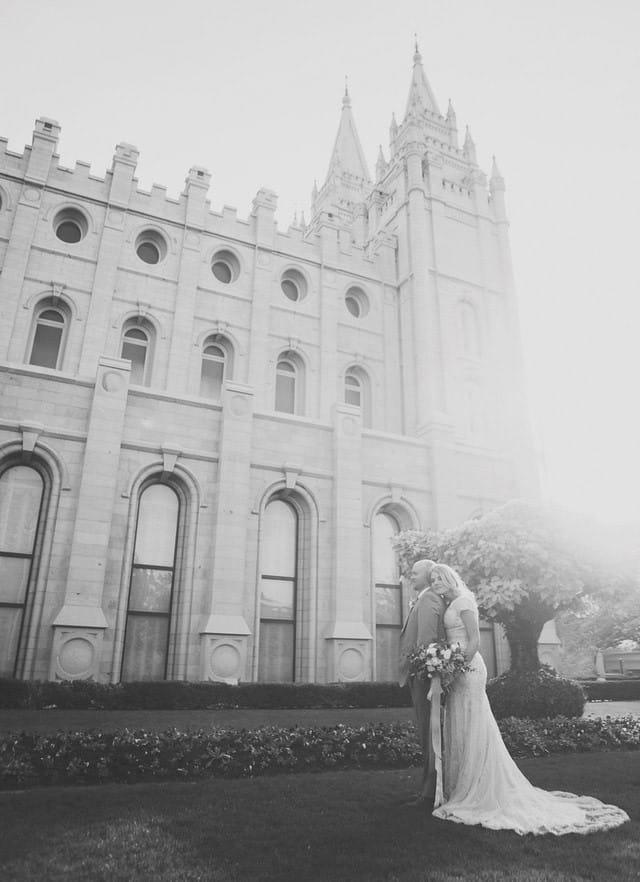 Maggie Sottero gold wedding dress