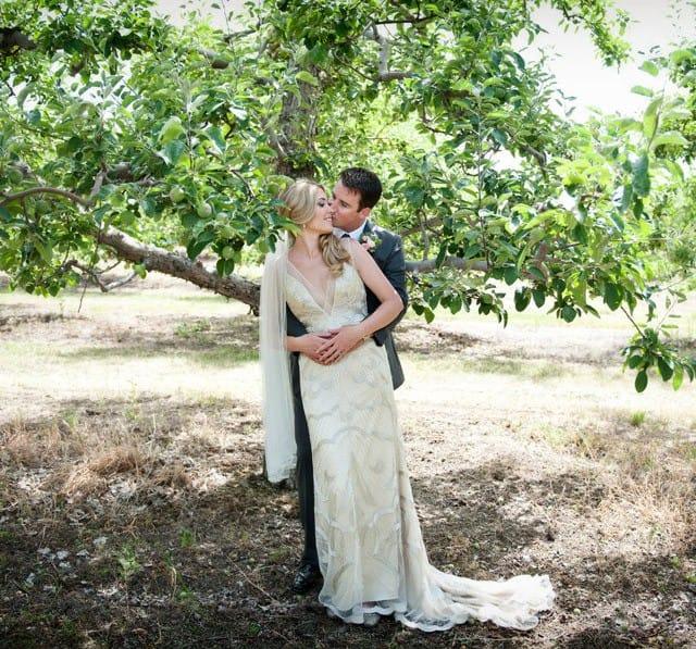 Kari's romantic orchard wedding