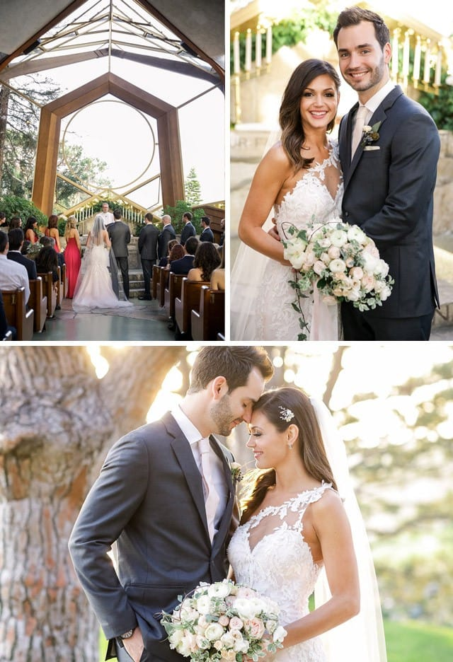 Maggie Bride, Desiree Hartsock, wearing lace wedding dress, Eve, by Maggie Sottero