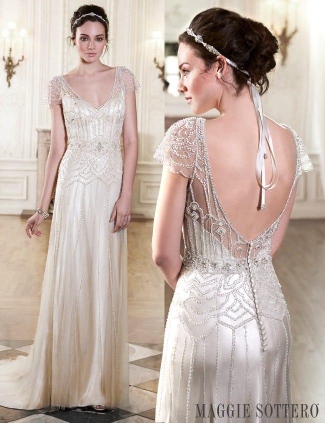 19c5a176fb0 Vintage Inspired Wedding Dress - Wedding Dress   Decore Ideas