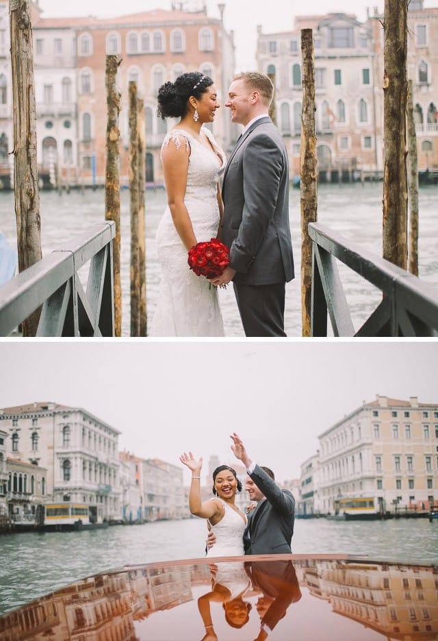 Maggie Sottero Italian Elopement in Venice
