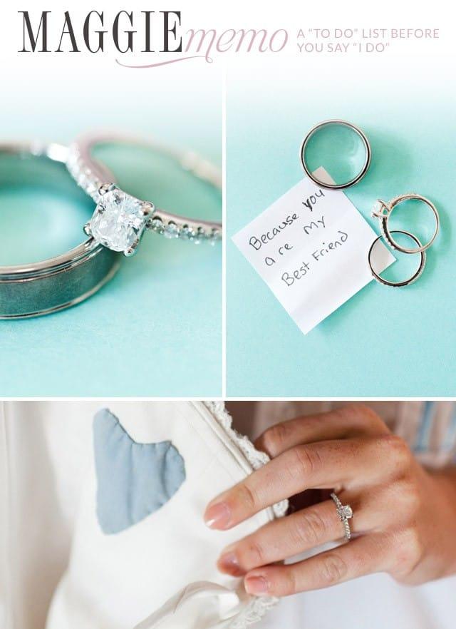 """Wedding to do list before you say, """"I do!"""""""