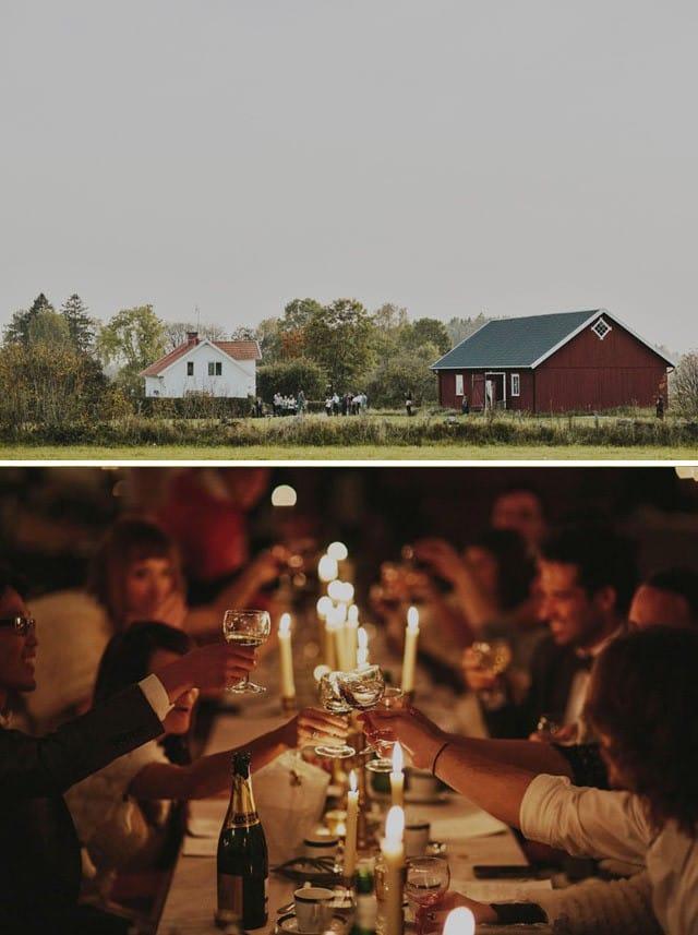 Maggie Bride, Ellie, and her romantic swedish destination wedding