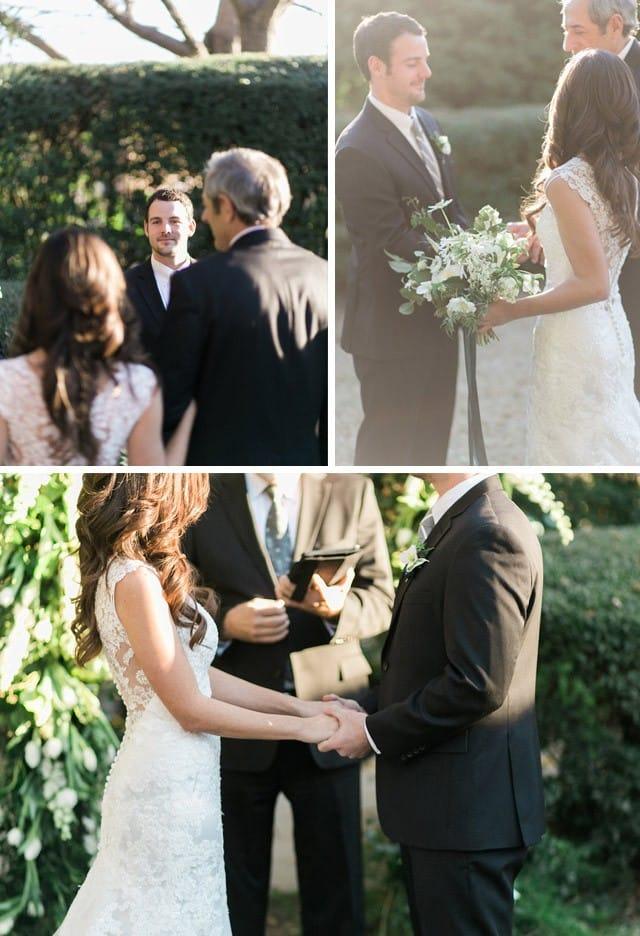 Maggie Bride Hanna hosts an intimate wedding ceremony