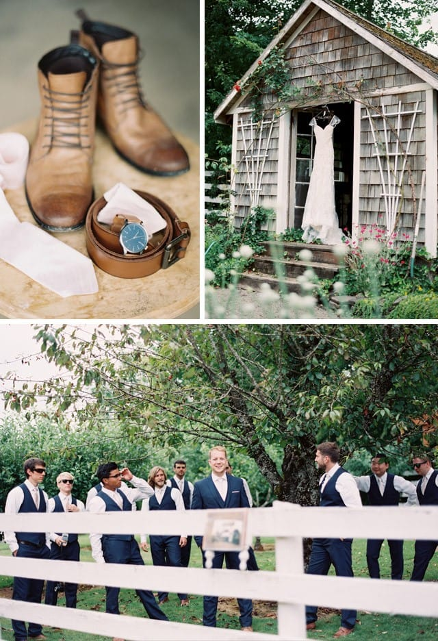 Alexa's whimsical rustic wedding.