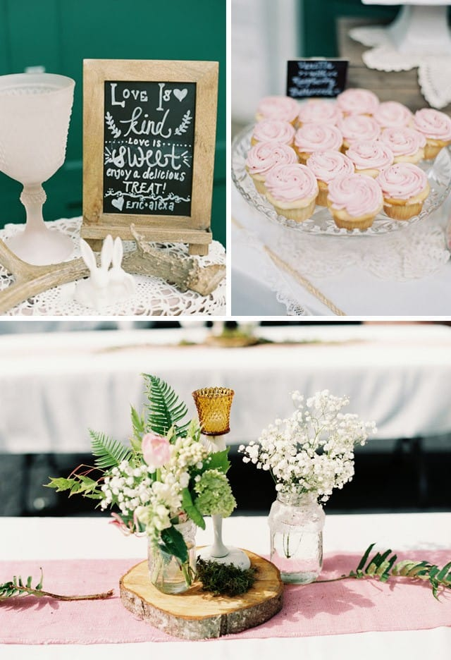 Alexa's Romantic and Rustic wedding