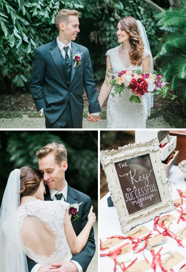 Maggie Bride Ashley and her outdoor Florida wedding