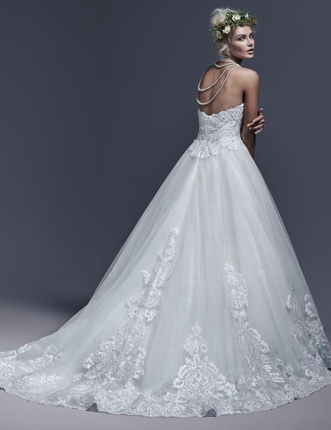 Dawnelle by Sottero and Midgley... elegant ballgown wedding dress