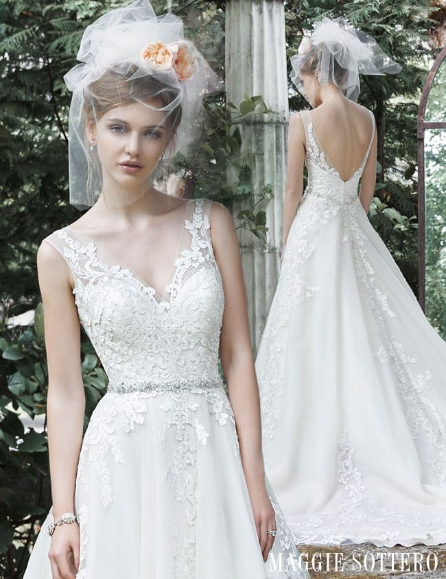Sybil by Maggie Sottero... See more dreamy ball gown wedding dresses by Maggie Sottero.