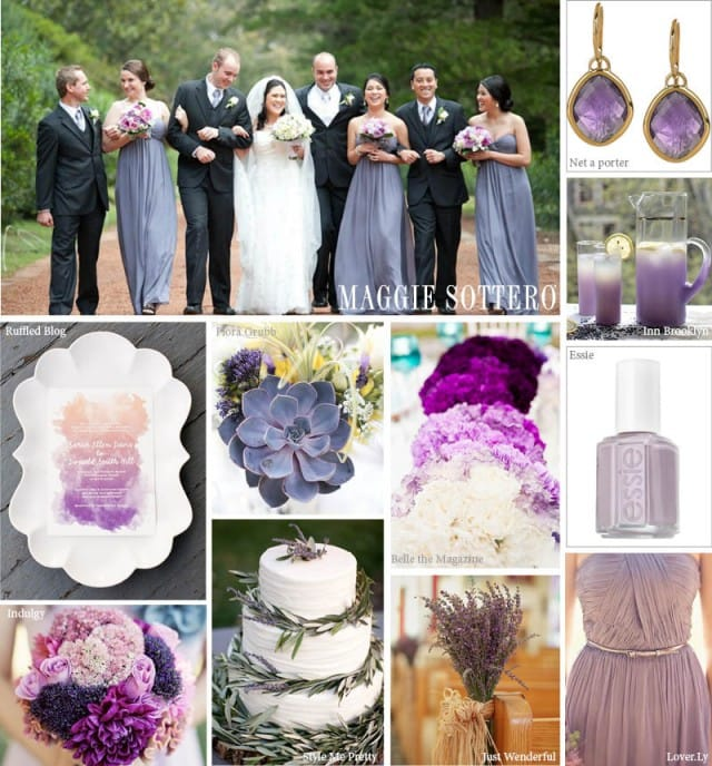 Cheap Wedding Dresses Raleigh Nc: Trend Tuesday: Lovely Lavender