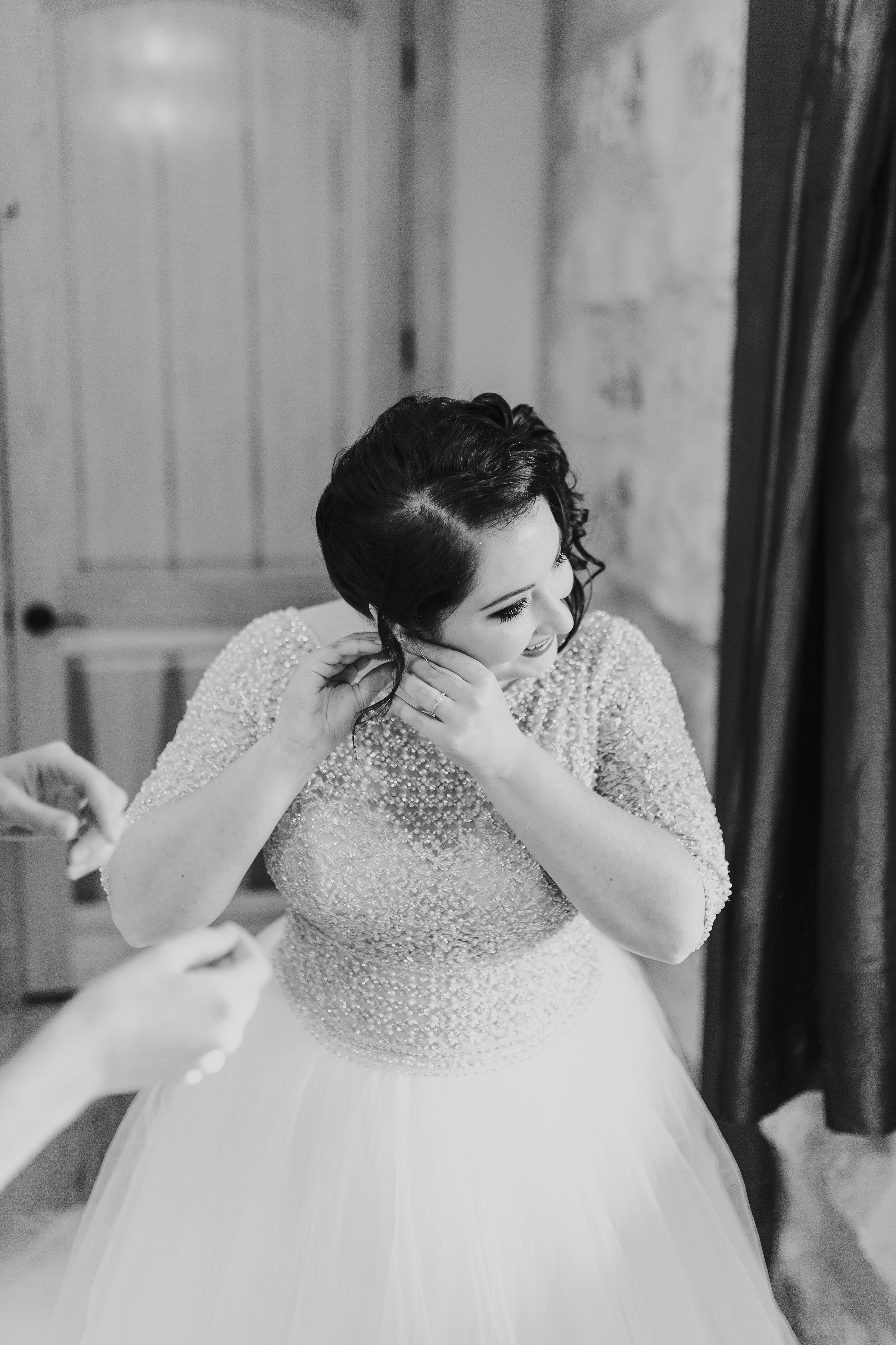 This Podcaster Couple Bonded Over All Things Geek Culture - Sottero & Midgley Bride Allen